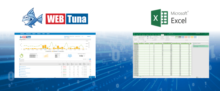 Getting WebTuna data into Excel